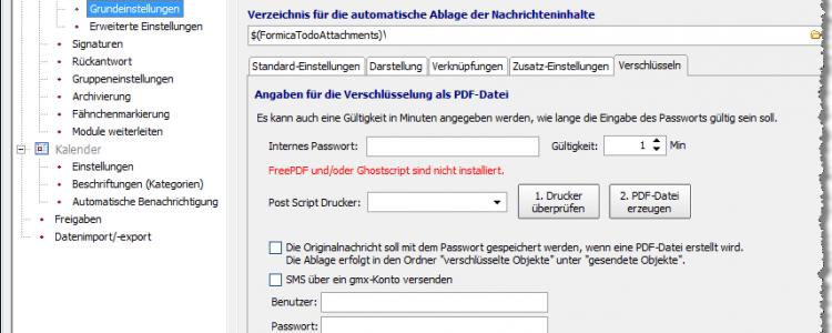 ToDo Emailverschlüsselung